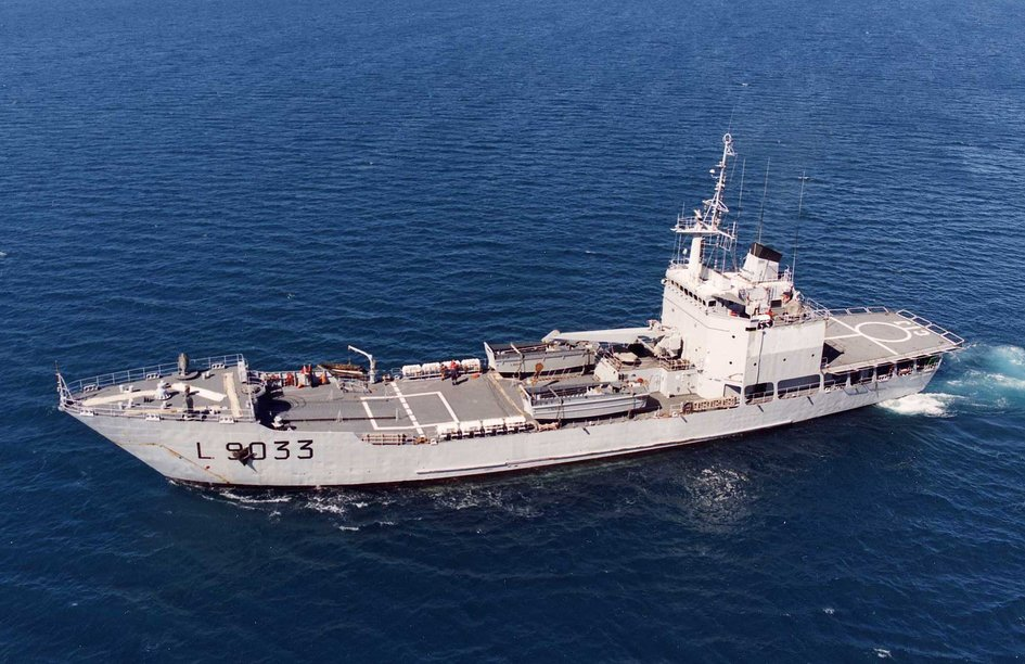 "French Naval Ship ""Jacques Cartier"" - JPEG"