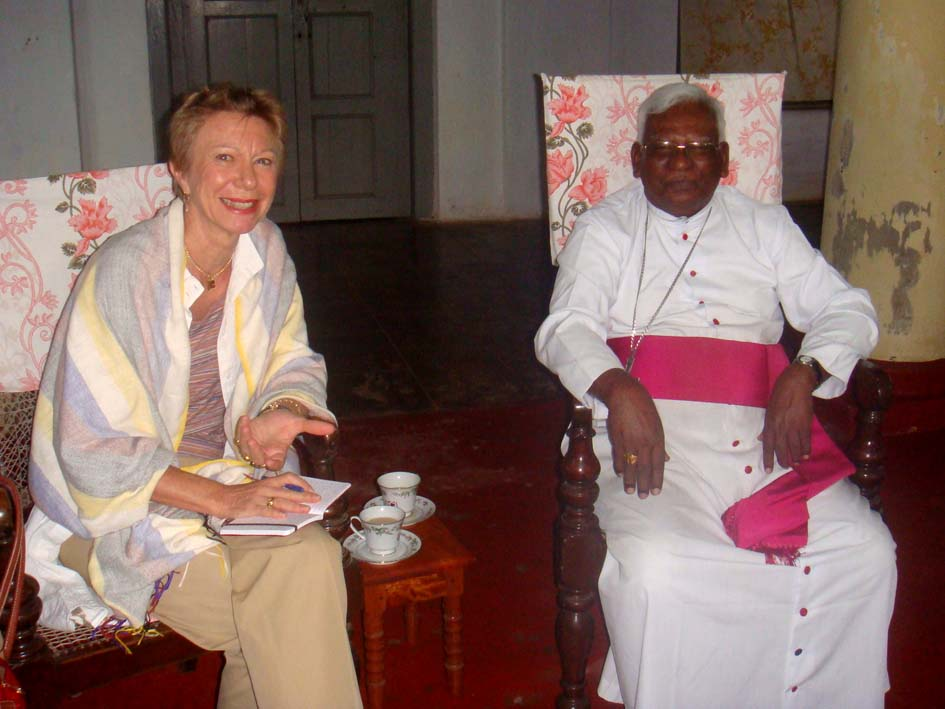 Meeting with the Bishop of Jaffna, Most Rev. Dr. Thomas Savundaranayagam - JPEG